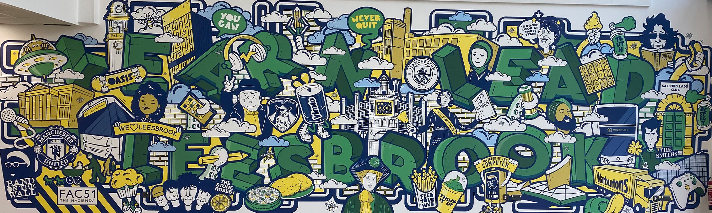 Leesbrook Mural